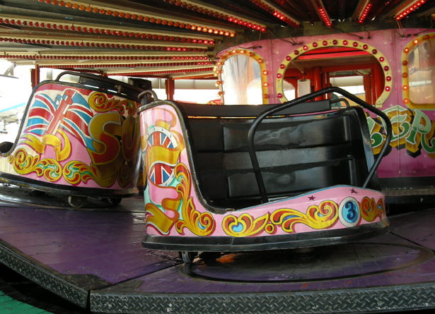 Waltzers Bottons Pleasure Beach, Skegness.