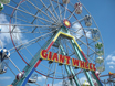 Giant Wheel at Botton's Pleasure Beach, Skegness.